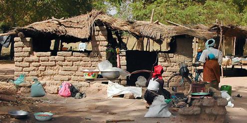 Dorf Afrika